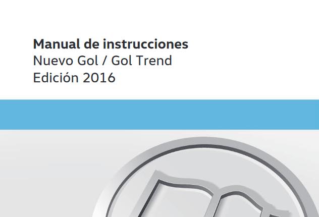 Manual de Volkswagen Gol / Gol Trend