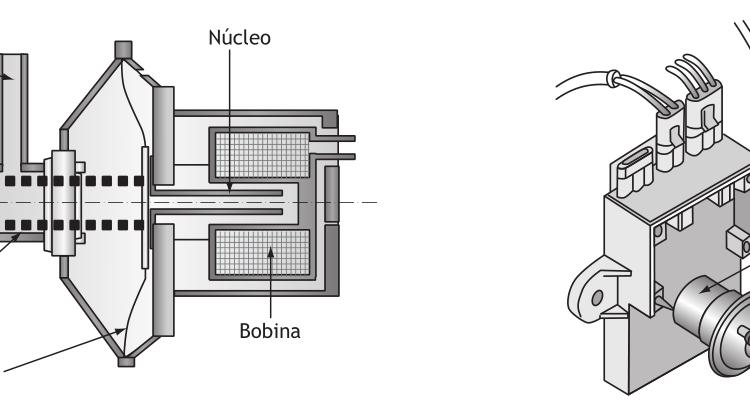 Esquema de captador de depresión y montaje sobre el conjunto de encendido